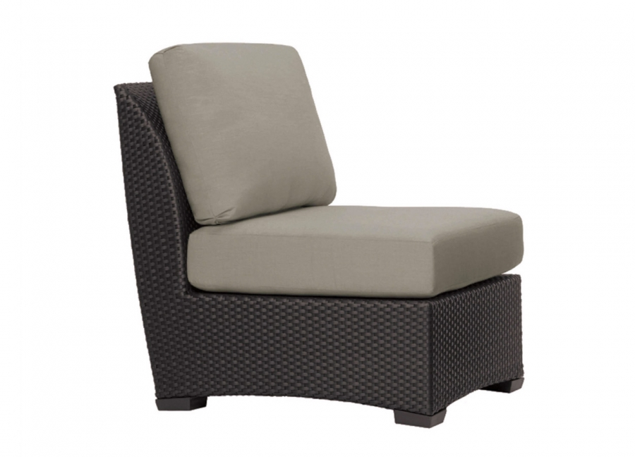 Fusion Sectional Center Armless Chair