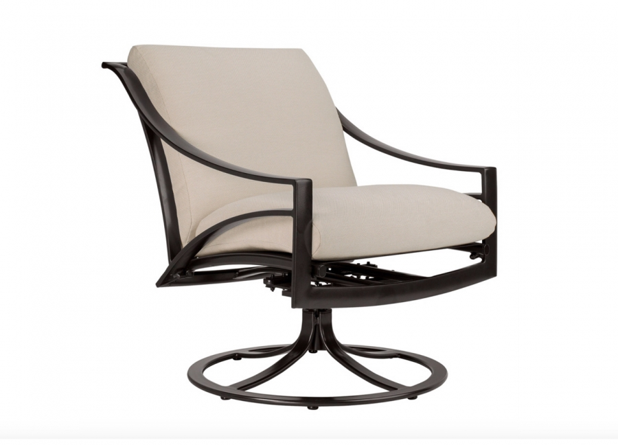 Pasadena Swivel Lounge Chair with Cushions