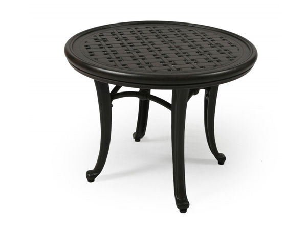 "21"" Round Top End Table"