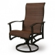 Albany Sling Swivel Dining Chair (grade A)