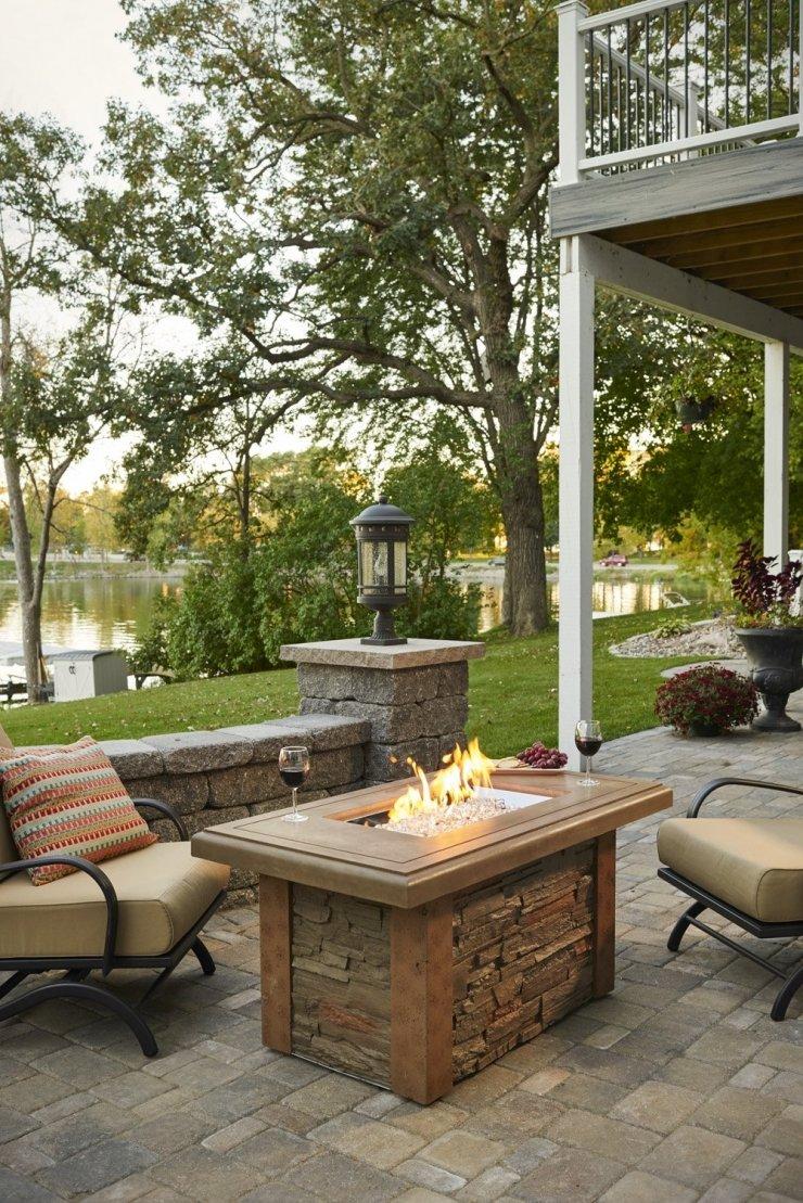 Backyard Bbq Fire Pit Table
