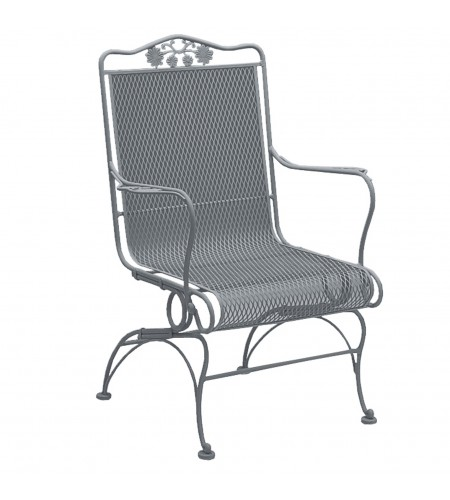 Briarwood High-Back Coil Spring Chair