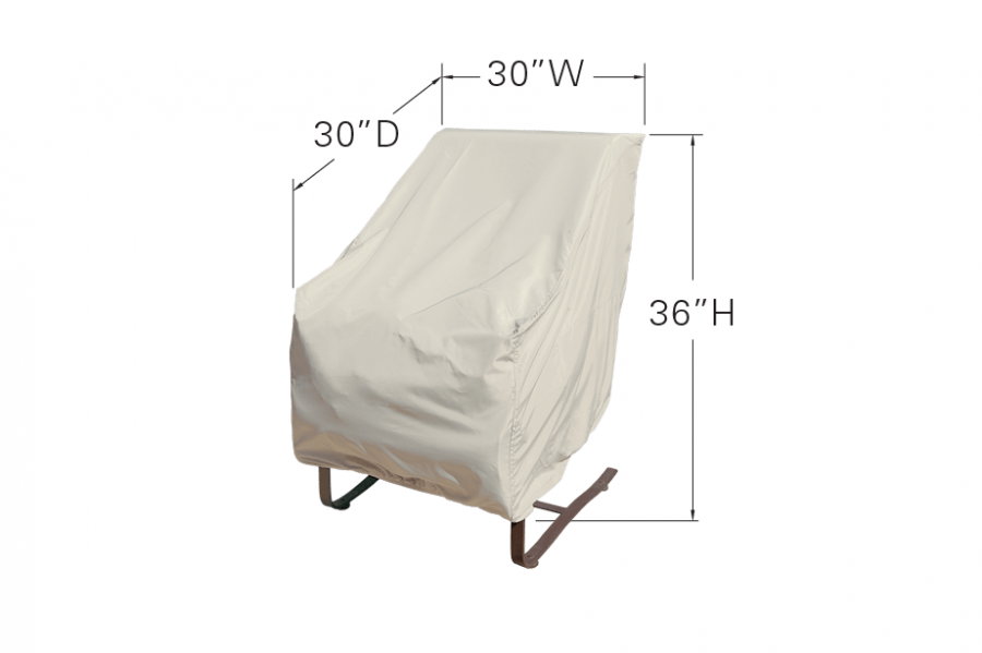 High Back Chair Dimensions