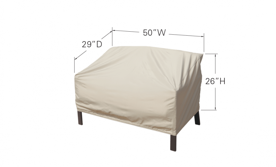 Loveseat Glider Dimensions
