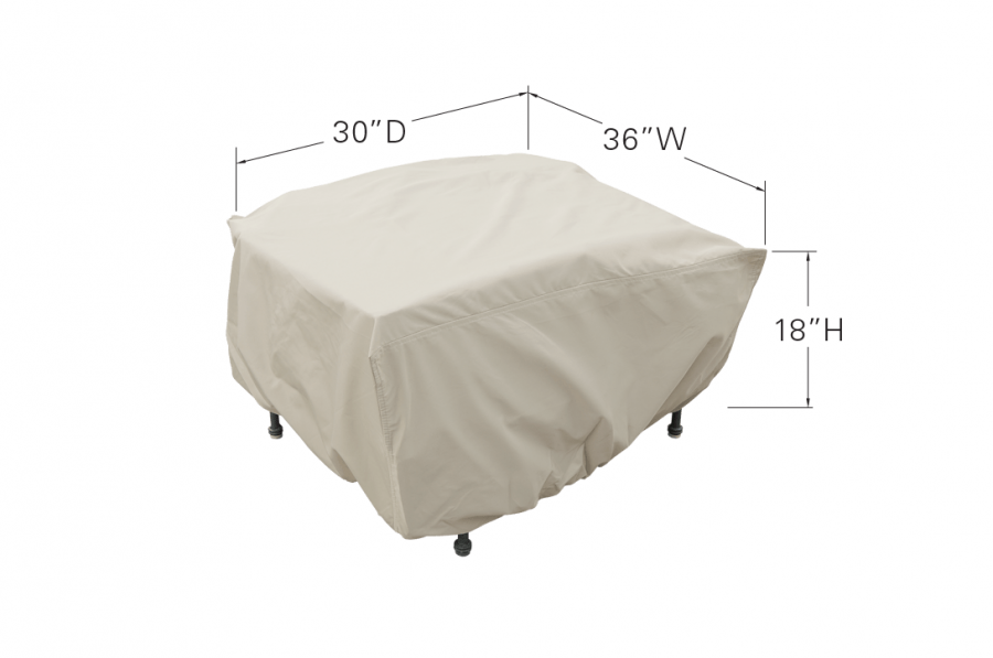 Large Deep Seated Ottoman Dimensions