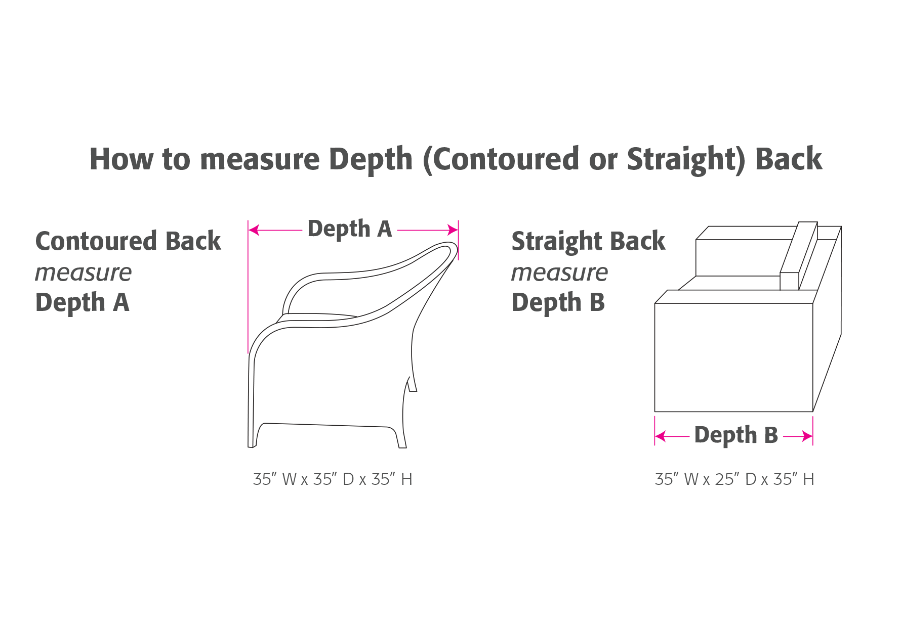 Deep Seated Lounge Chair Dimensions
