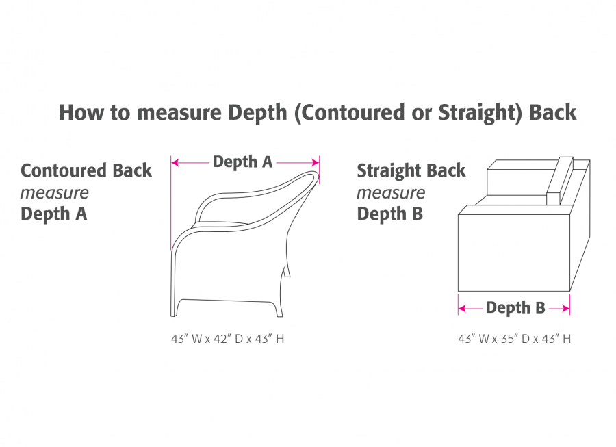 Deep Seated X-Large Lounge Chair Dimensions