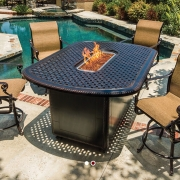 Dinner Party Fire Pit Table - Jopa Outdoor Furniture