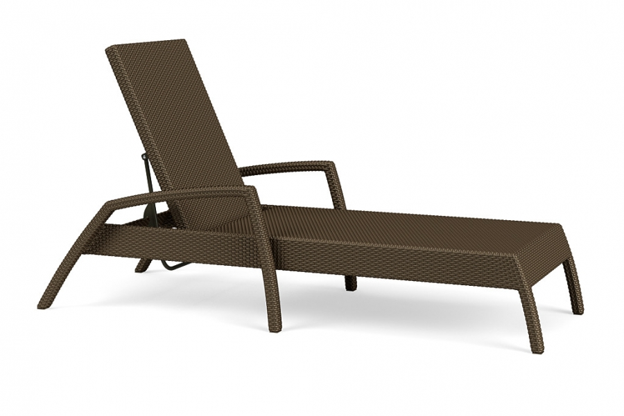 FUSION STACKING  ADJUSTABLE CHAISE LOUNGE BRONZE