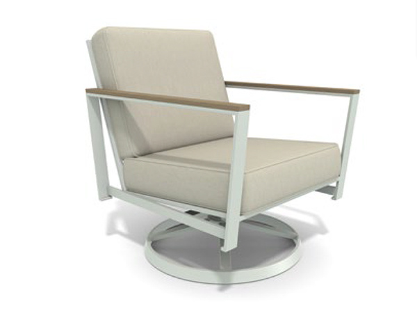 Echo Swivel Lounge Chair with Cushion