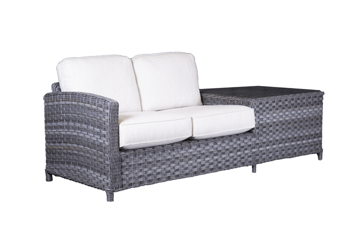 Lorca Love Seat with Table