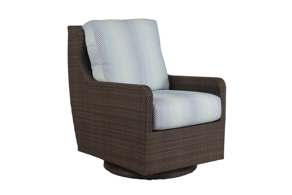 Bali Swivel Glider Lounge Chair with Cusion