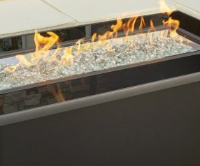 Contemporary fire table - Jopa Outdoor Furniture
